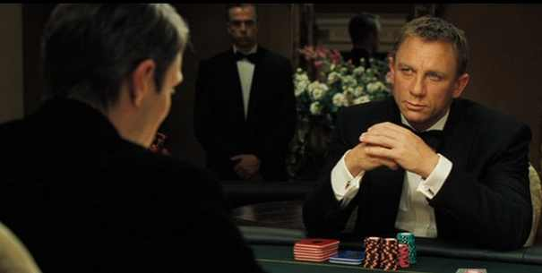 james bond casino royale poker