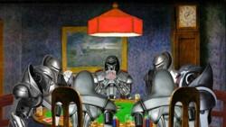 ewoks/cylons play poker