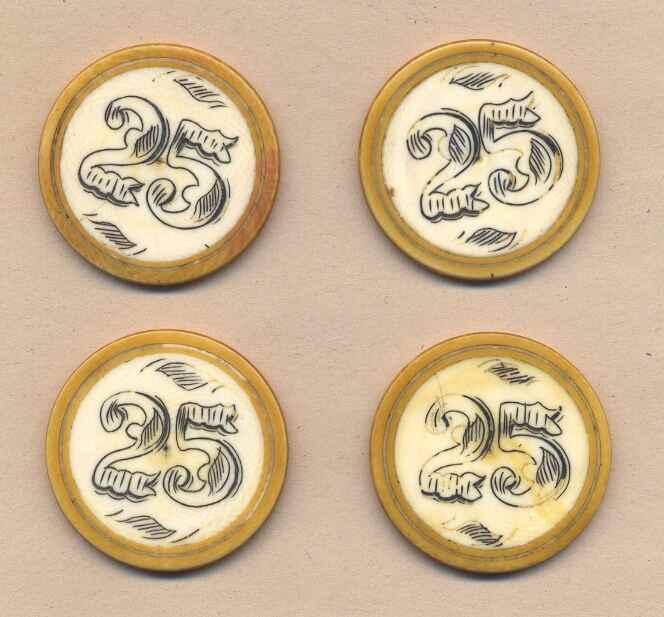 Antique ivory gambling chips spotlight 29 resort casino