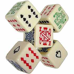 poker dice for sale
